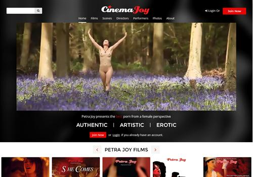 German feminist porn video on Cinema Joy