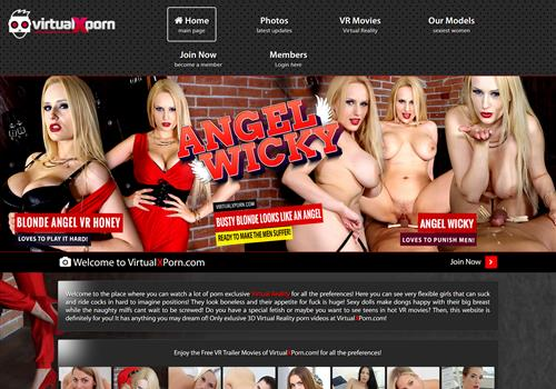 Top new VR paysite Virtual X Porn