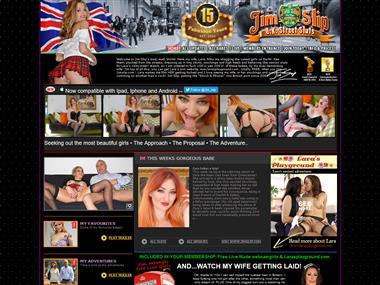 Jim Slip UK Street Sluts