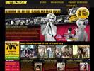 Vintage website Retro Raw