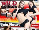 Solo Brunettes website Wild Addison
