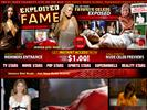 Celebrity website Exploited Fame