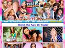 18 Teens website Pure 18